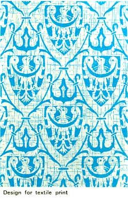 Design for textile print.